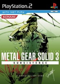 Cover Metal Gear Solid 3: Subsistence
