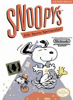 Cover Snoopy's Silly Sports Spectacular!