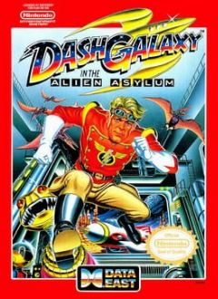 Cover Dash Galaxy in the Alien Asylum
