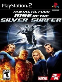 Cover Fantastic Four: Rise of the Silver Surfer