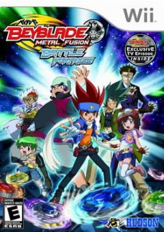 Cover Beyblade: Metal Fusion – Battle Fortress