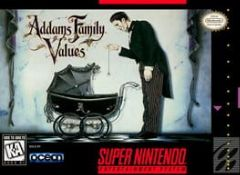 Cover The Addams Family Values