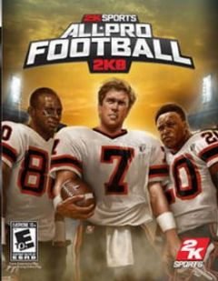 Cover All-Pro Football 2K8