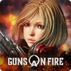 Cover A.V.A: Guns On Fire