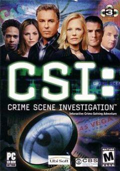 Cover CSI: Crime Scene Investigation