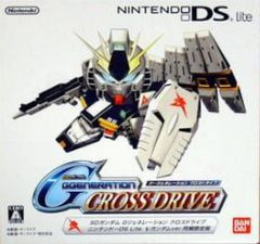 Cover SD Gundam G Generation: Cross Drive