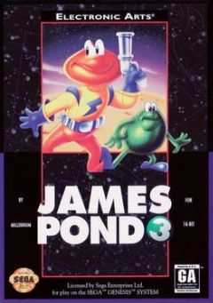 Cover James Pond 3: Operation Starfish