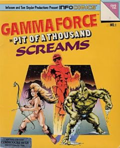 Cover Gamma Force in Pit of a Thousand Screams