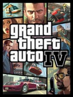 Cover Grand Theft Auto IV