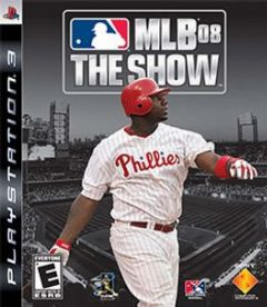 Cover MLB 08: The Show