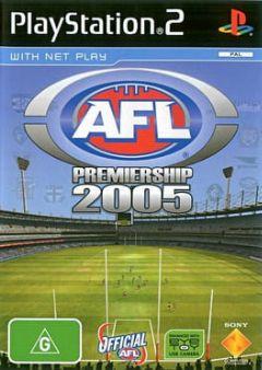 Cover AFL Premiership 2005