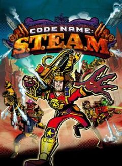 Cover Code name S.T.E.A.M.
