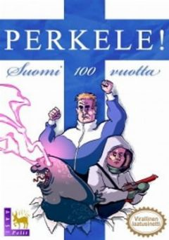Cover PERKELE! Suomi 100 vuotta