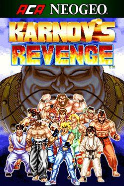 Cover ACA NEOGEO KARNOV'S REVENGE
