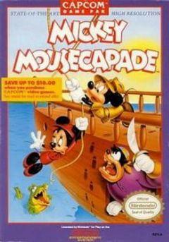 Cover Mickey Mousecapade
