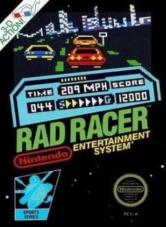 Cover Rad Racer