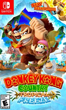 Cover Donkey Kong Country: Tropical Freeze for the Switch