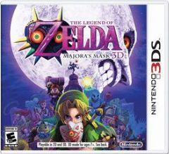 Cover The Legend of Zelda: Majora's Mask 3D