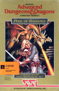 Cover Advanced Dungeons & Dragons: Pool of Radiance