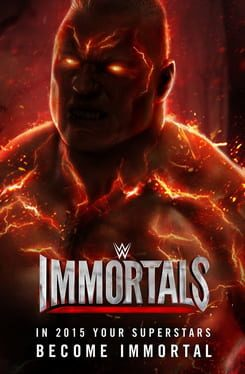 Cover WWE Immortals