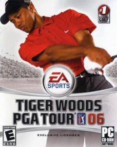 Cover Tiger Woods PGA Tour 06