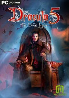 Cover Dracula 5: The Blood Legacy