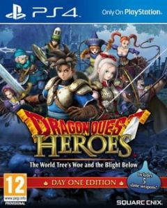 Cover Dragon Quest Heroes: The World Tree's Woe and the Blight Below