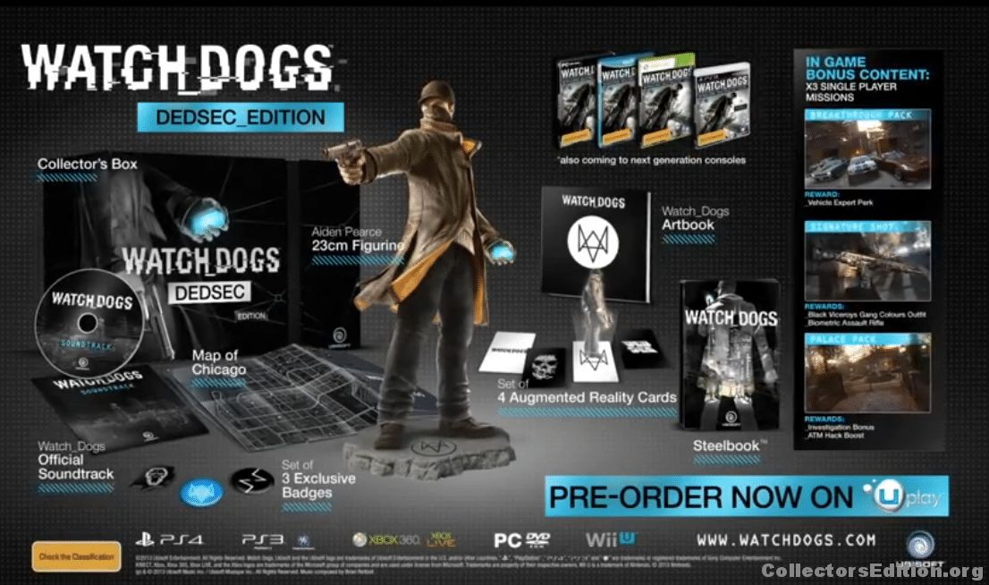 Watch_Dogs – DEDSEC_Edition