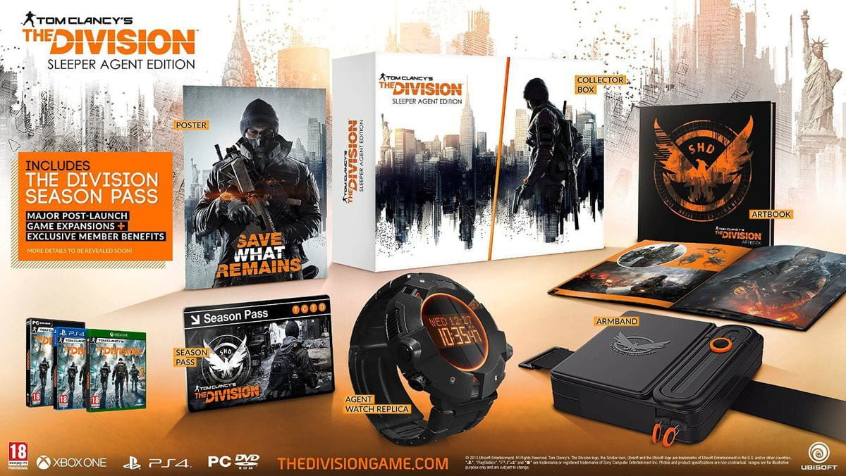 Tom Clancy's The Division – Sleeper Agent Edition