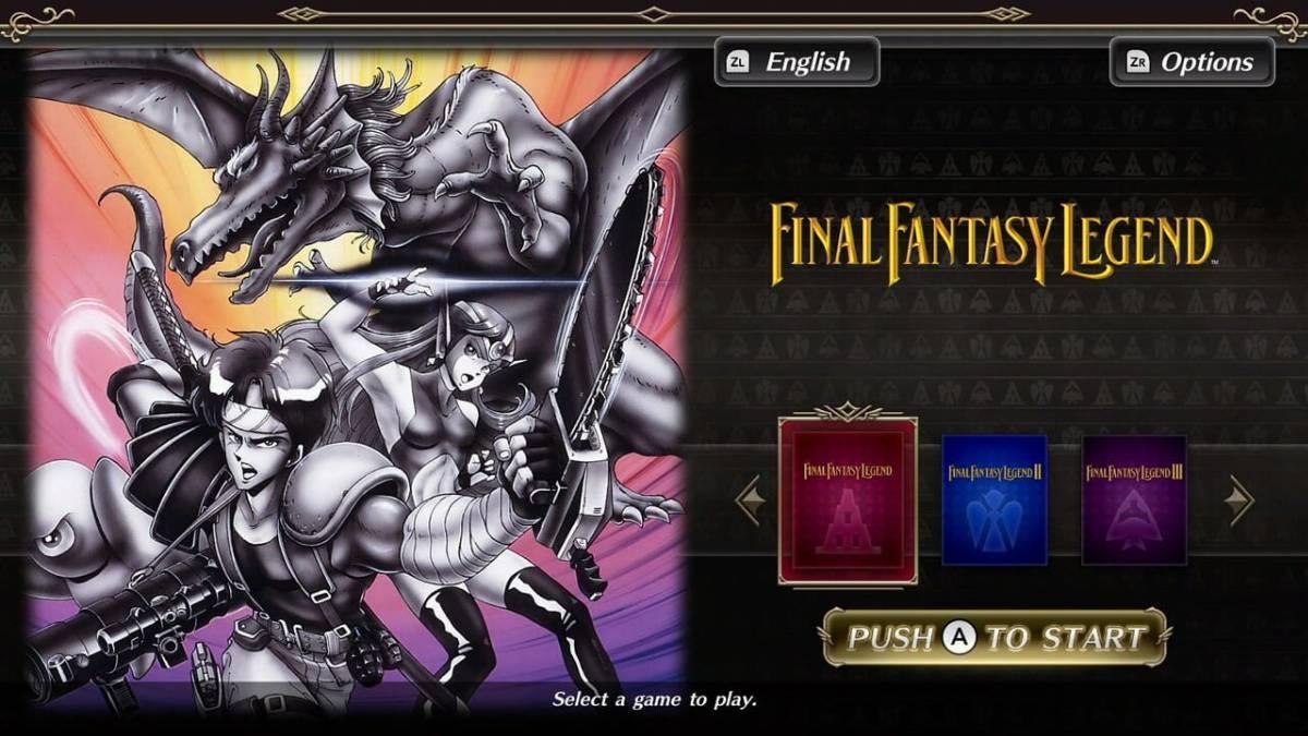 Collection of SaGa: Final Fantasy Legend