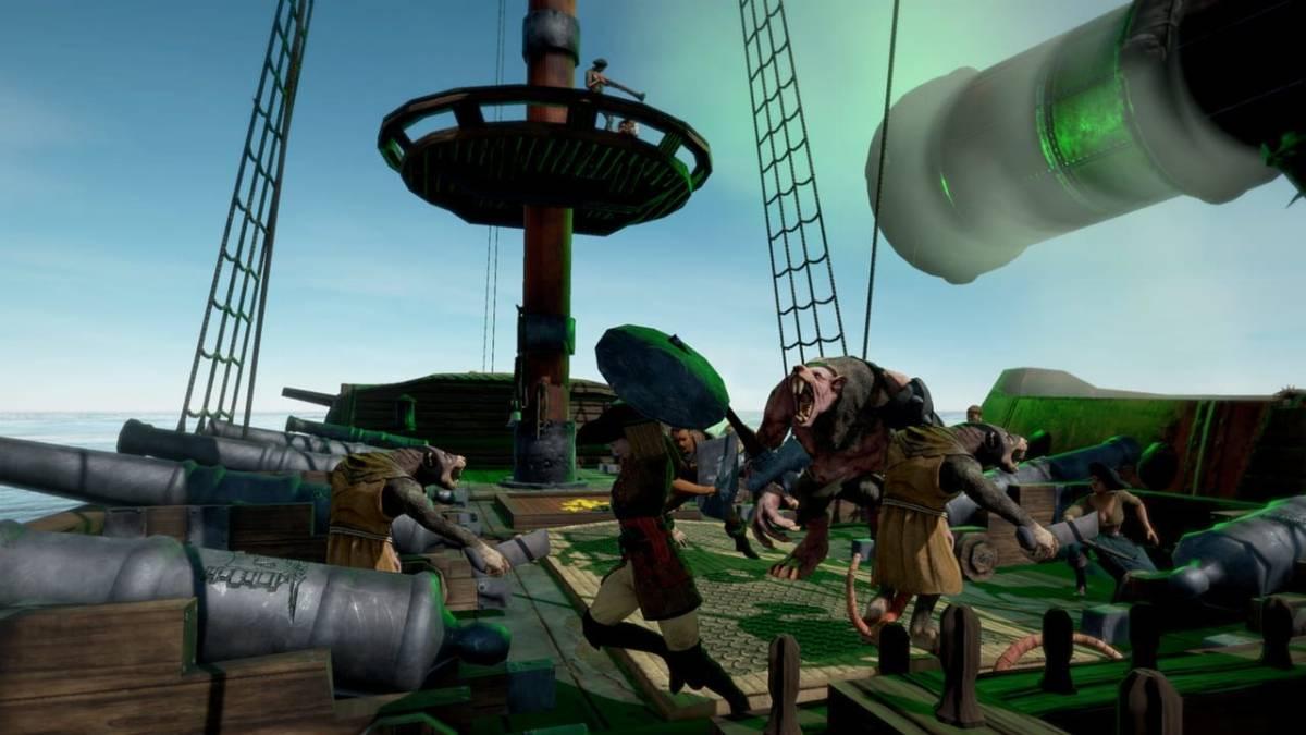 Man O' War: Corsair – Warhammer Naval Battles