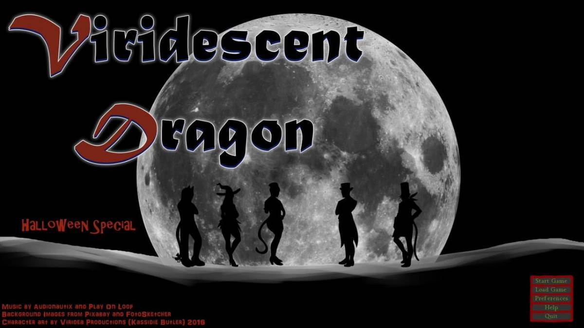 Viridescent Dragon: Halloween Special