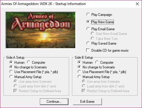 Armies of Armageddon: WDK 2K