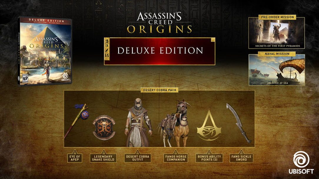 Assassin's Creed: Origins – Deluxe Edition