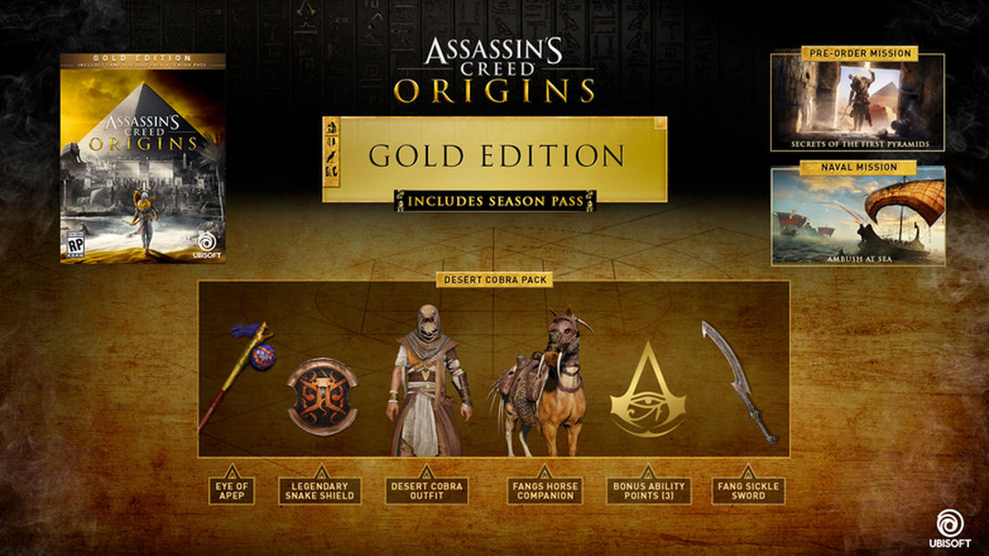 Assassin's Creed: Origins – Gold Edition
