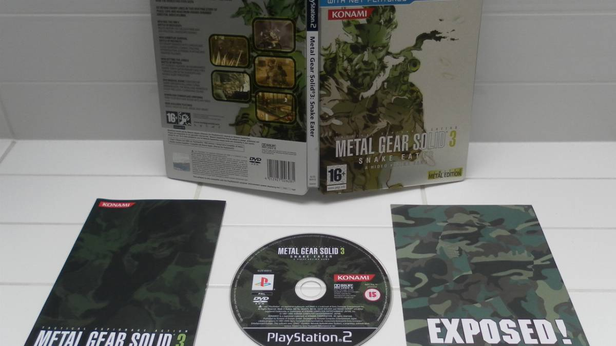 Metal Gear Solid 3: Limited Metal Edition