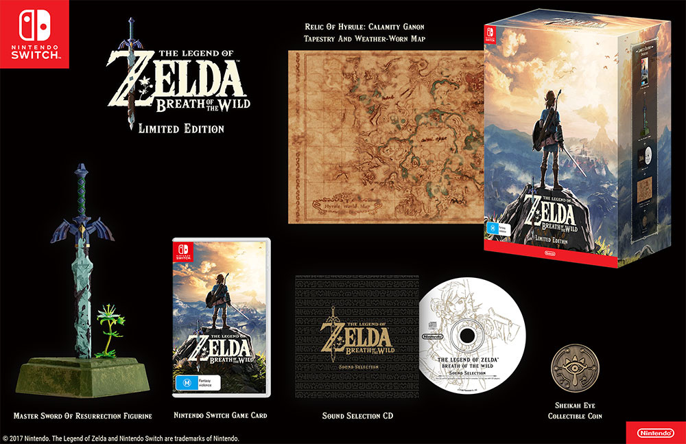 The Legend Of Zelda: Breath of the Wild – Limited Edition