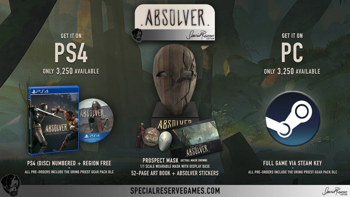 Absolver: Special Reserve edition