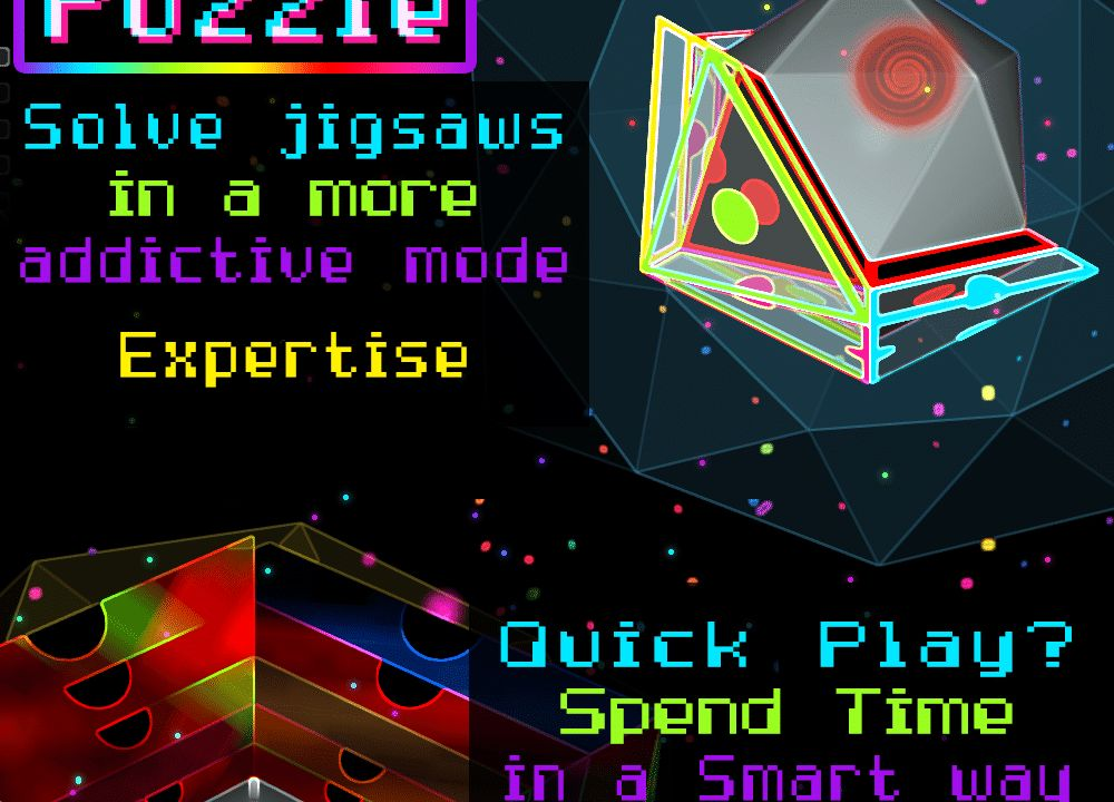 Cosmic Horizon – World First 3D Game Puzzle Ever