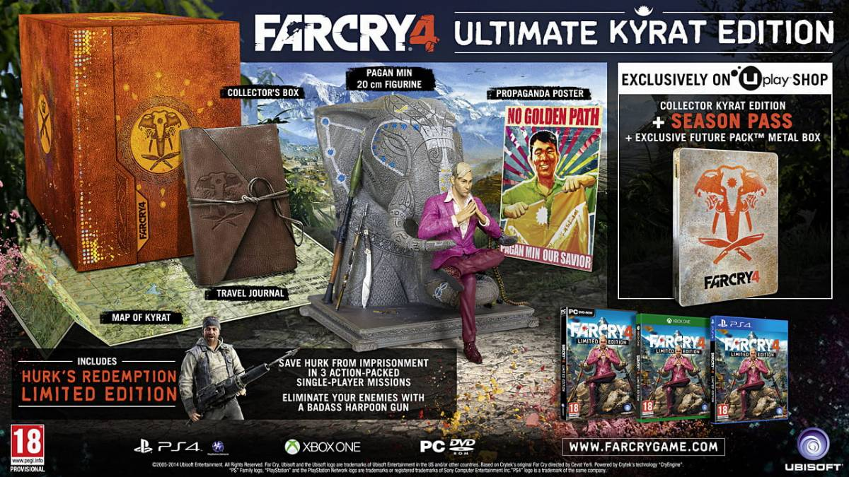 Far Cry 4: Ultimate Kyrat Edition