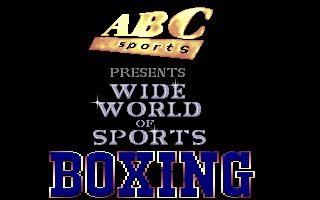 TV Sports Boxing